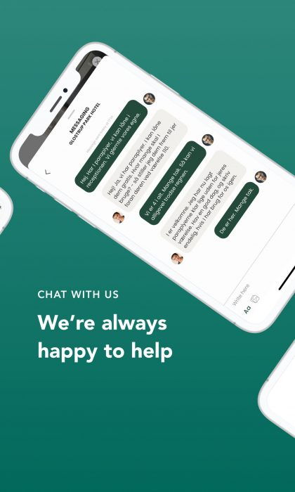2. chat with us